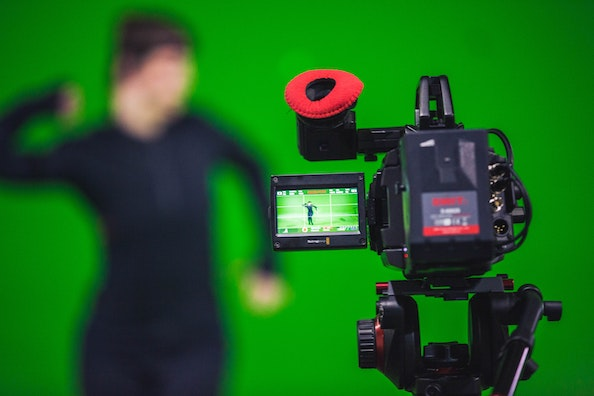 virtual production - green screen - mocap technology